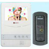Видеодомофон + вызывная панель PC-431 W + (PC-201)